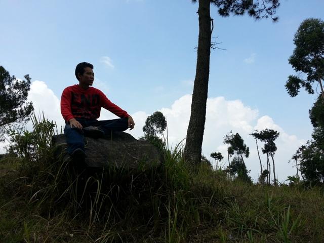 Nangklak Gunung Papandayan (02)